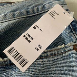 Agolde Shorts - AGOLDE denim shorts